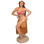 Tall Hula Girl Statue