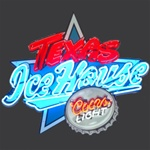 Texas Ice House Coors Light Beer Neon Sign