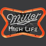 Miller High Life Beer Neon Sign
