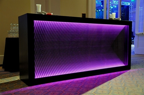 Infinity Black Led Bar