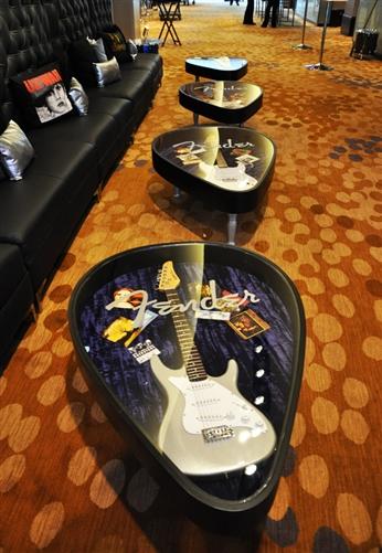 Guitar Pick Coffee Table