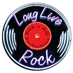 Long Live Rock Neon Record