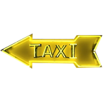Taxi Neon Sign