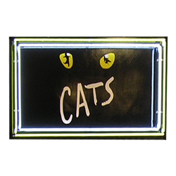 CATS Neon Sign