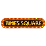 Times Square Neon Sign