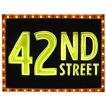 42nd Street Neon Sign