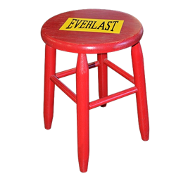 Red Boxing Stool