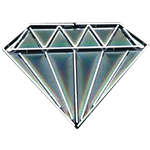 Large Neon Diamond