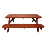 Picnic Table - Redwood Stain