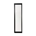 White Lighted Column with Black Frame