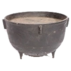 Iron Witch Cauldron