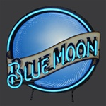 Blue Moon Beer Neon Sign