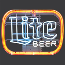 Lite Beer Neon Sign