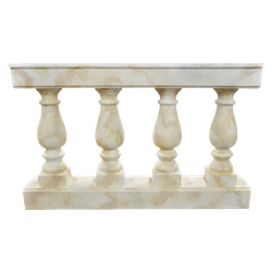 Faux Marble Balustrade