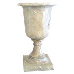 Faux Marble Urn