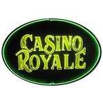 Casino Royale Neon Sign