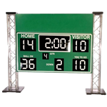 Football Scoreboard Sign