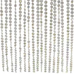 Beaded Crystal Curtain 18' Long