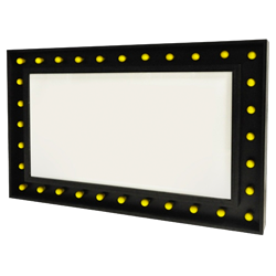 Marquee Sign Rectangle