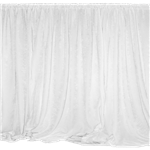 White Sheer Drape Panel 12' Long