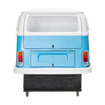 VW Bus Bar - Rear Blue