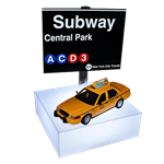 NY Subway Centerpiece