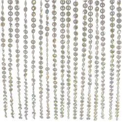 Beaded Crystal Curtain 12' Long