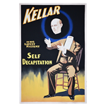 Oversized Vintage Poster - Magician
