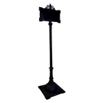 Wrought Iron Sign Holder