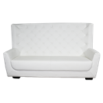 White Highback Sofa