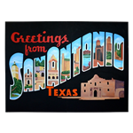 Oversized San Antonio Postcard