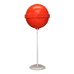Red Round Lollipop Giant Candy