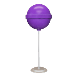 Purple Round Lollipop Giant Candy