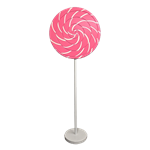 Pink Swirl Lollipop Giant Candy