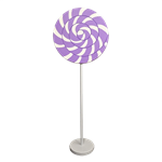 Purple Swirl Lollipop Giant Candy