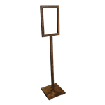 Rustic Sign Holder - Large
