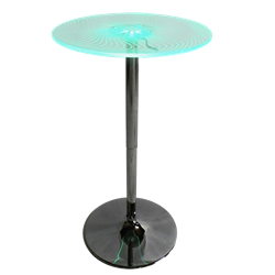 Multi Colored Cocktail Table