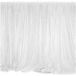 White Drape Panel 9' Long