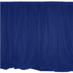 Navy Drape Panel 3' Long