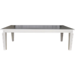 Infinity White Dining Table
