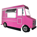 Pink Faux Food Truck