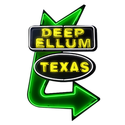 Deep Ellum Neon Sign