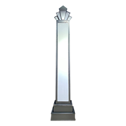 Art Deco Column - 14'