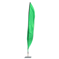 Feather Flag Green
