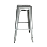 Gunmetal Bistro Bar Stool