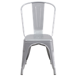 Gunmetal Bistro Chair