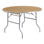 "48"" Round Folding Banquet Table"