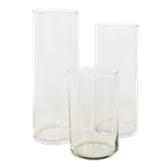 Set of (3) Small Vases