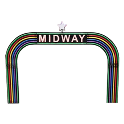 Midway Neon Entrance