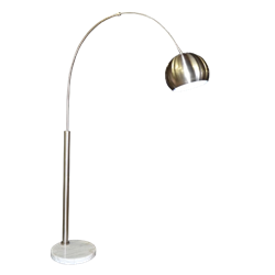 Metal Arched Floor Lamp